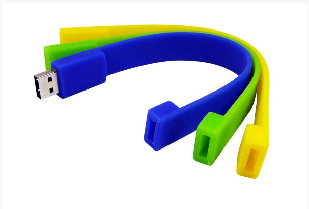 Bracelet Usb-Flash-Drive Funny Cute 4G Usb-2.0 64GB 32GB 16GB 8GB Pendrive U-Disk Memoria
