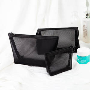Cosmetic-Bag Makeup-Case Storage-Pouch Toiletry Zipper Travel-Function Transparent Beauty