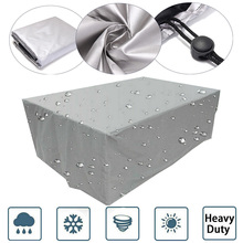 23 размера чехол водонепроницаемый открытый патио пыль садовая мебель Чехлы диван стул стол чехол для пыли Чехол Дождь Снег