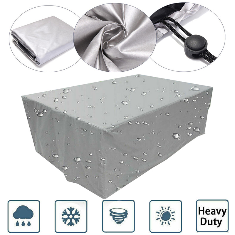 23 Sizes Cover Waterproof Outdoor patio dust garden furniture covers  Sofa Chair Table Cover for Dust Proof Cover Rain Snow