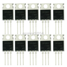 10 adet IRF4905PBF TO220 IRF4905 TO 220 IRF4905P güç MOSFET yeni ve orijinal