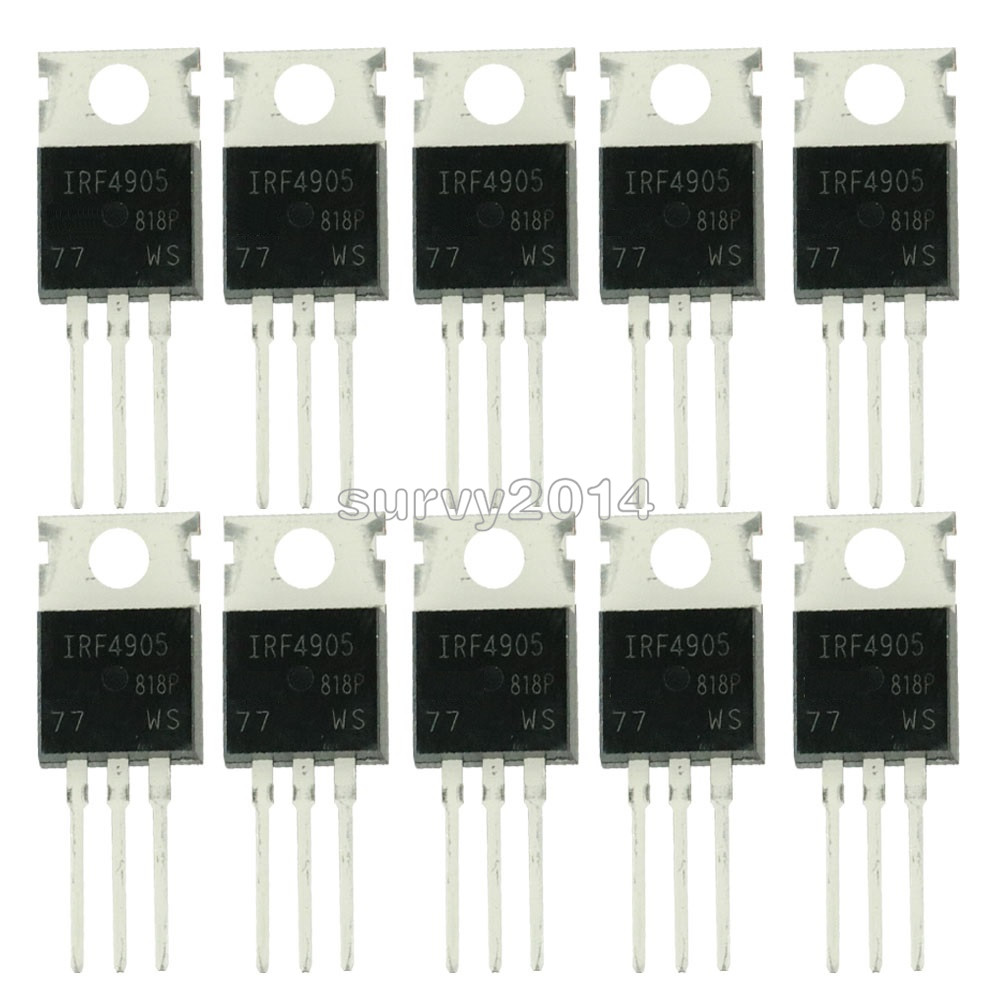 10pcs IRF4905PBF TO220 IRF4905 TO-220 IRF4905P Power MOSFET New And Original