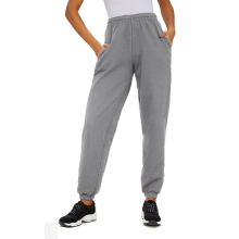 Echoine Elasticated high waist pants for women straight versatile loose sports casual trousers female joggers sweatpants ladies