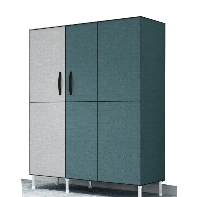 M8 Simple Wardrobe Steel Tube Thickening Cloth   Economical Assembly Fabric  Storage Cabinet