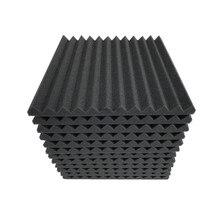 Painéis de isolamento sonoros da espuma acústica de 12 pces 300x300x25mm para a barra de ktv que insonorizam a cor múltipla da prova de som das cunhas do estúdio