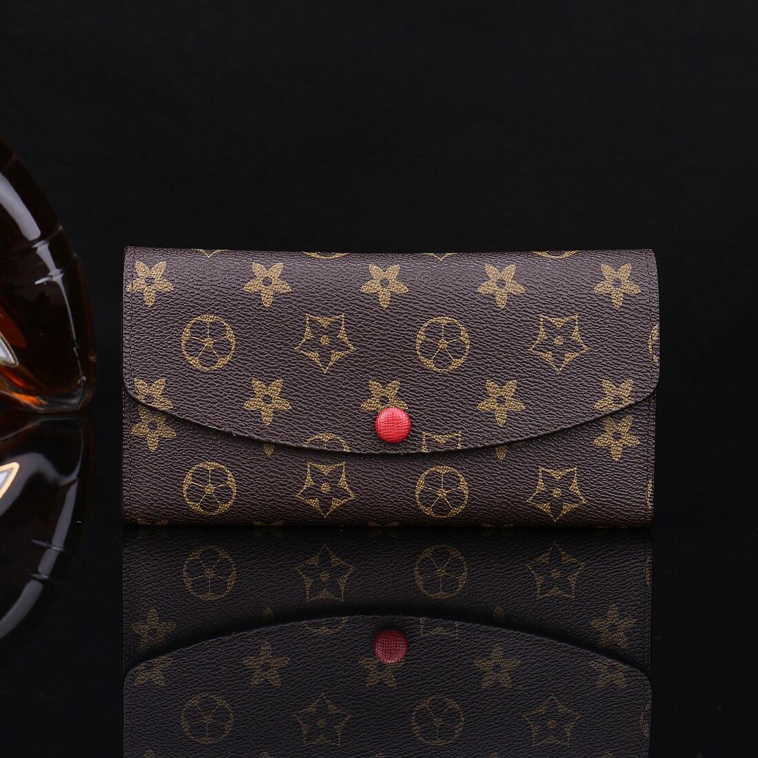 2019 nouvelle mode européenne personnalité pochette femme longue Section grande capacité téléphone Mobile femmes portefeuille marée luxe