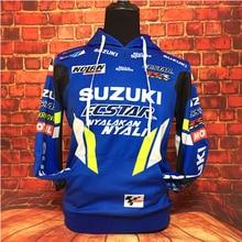 Knight GP мотоциклетная Толстовка Для Suzuki с вышитым логотипом, толстовка с капюшоном, куртка, пальто RR GSXR GXS, мотоциклетная одежда