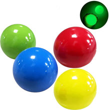 1 pçs tpr bola pegajosa globbles brinquedo fidget para crianças brilhante goo bola squeeze vent bola