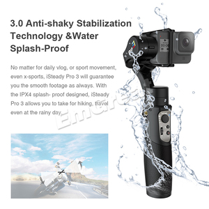 Image 4 - Hohem iSteady Pro 3 3 axis Handheld Splash Proof Gimbal for DJI Osmo Action Gopro Hero 8/7/6/5/4/3 SJCAM YI Cam Insta360 ONE R