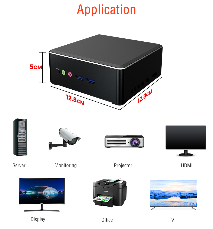 Chatreey AN1 mini pc AMD  R5 3550H R7 2700U win10 with Vega 8/10 Graphic 4K UHD DP HDMI desktop Gaming computer Nvme SSD 5