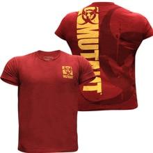 Men Tshirt Summer Short Sleeve Shirt Graphic Printed Bodybuilding Gym Workout T-shirt Fashion Hip Hop