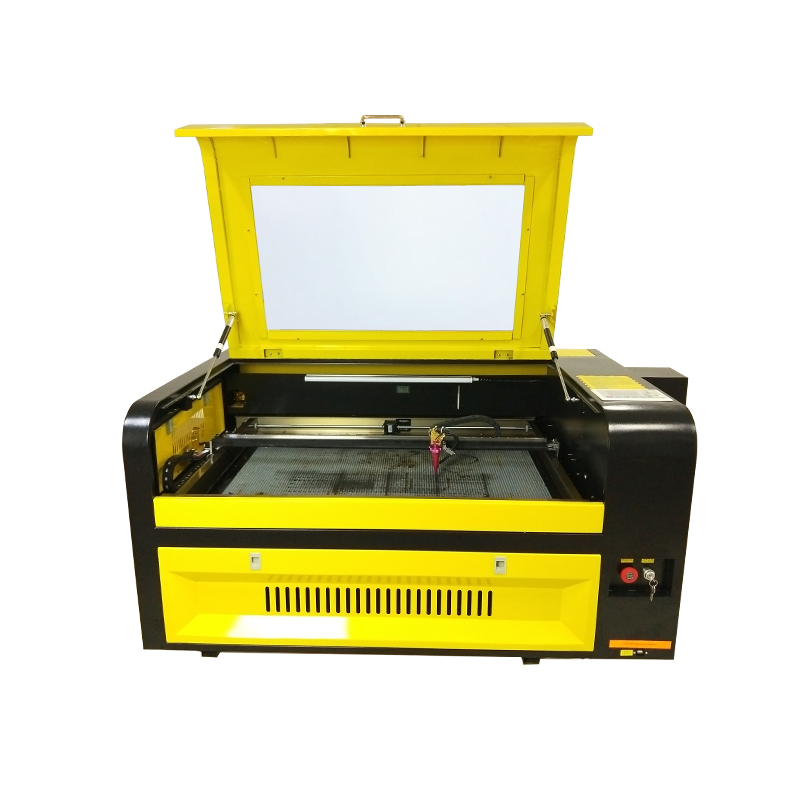 Wooden , Acrylic, MDF, Leather Materials 60w 80w 100w 130w 600*900mm 6090 Cnc Laser Cutting Engraving Machine
