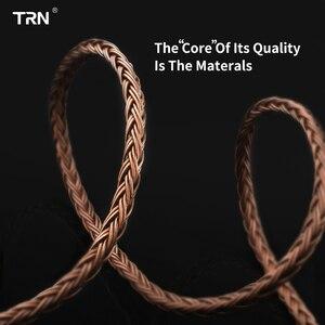 Image 4 - TRN16 Core 4.4mm Balance Line Gebalanceerde Kabel Tot 0.75 0.78 2pin/mmcx Connector hifi Upgrade Kabel Voor TRN V80/KZ/TFZ