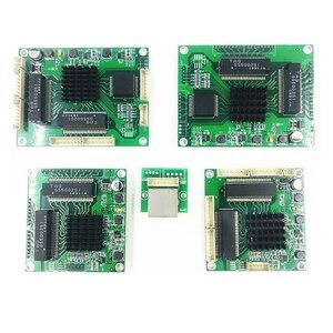 Модуль переключателя Ethernet 5 портов unmanager 10/100/1000 Мбит/с плата PCBA OEM авто-зондирование портов PCBA плата OEM материнская плата