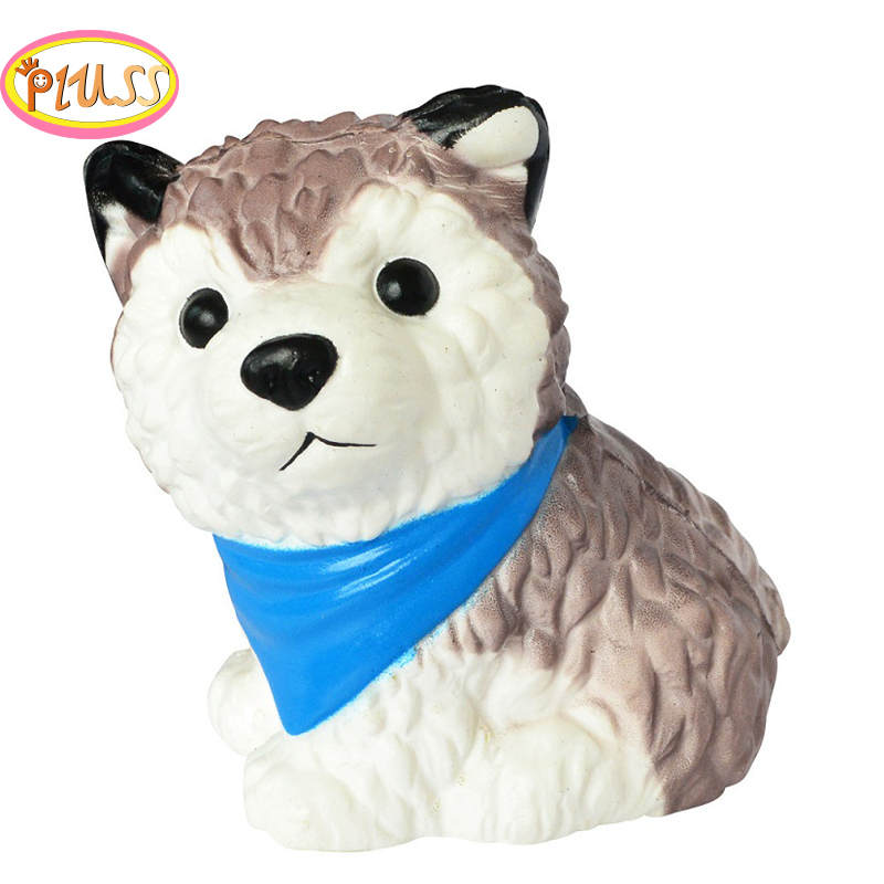 Jumbo Simulation Dog Squishy Scented Soft PU Slow Rising Stress Relief Toy Kids Grownups Squeeze Toys