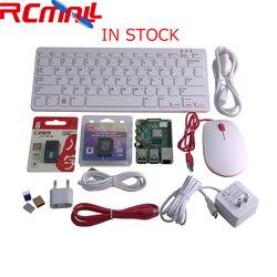 Raspberry Pi 4 Модель B 4B Настольный набор 4 Гб Оперативная память из LPDDR4 SD Оперативная память 1,5 ГГц 64-разрядный четырёхъядерный-Основная клавиату...
