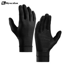 Anti Arthritis Full Finger Gloves Health Compression Therapy Gloves Rehabilitation Training Pressure Running Sports Glove
