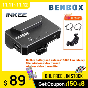 Image 1 - BENBOX Dual Channel Wireless 5G 1080P Mini HDMI compatible Transmission Device Video Transmitter