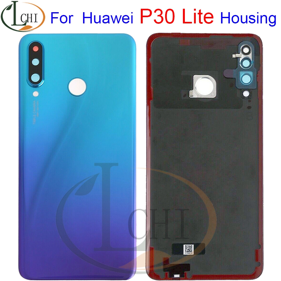 Back Glass For <font><b>Huawei</b></font> <font><b>P30</b></font> Lite <font><b>Battery</b></font> <font><b>Cover</b></font> Rear Door Housing Case For <font><b>Huawei</b></font> Nova 4e Housing <font><b>P30</b></font> Lite <font><b>Battery</b></font> <font><b>Cover</b></font> image