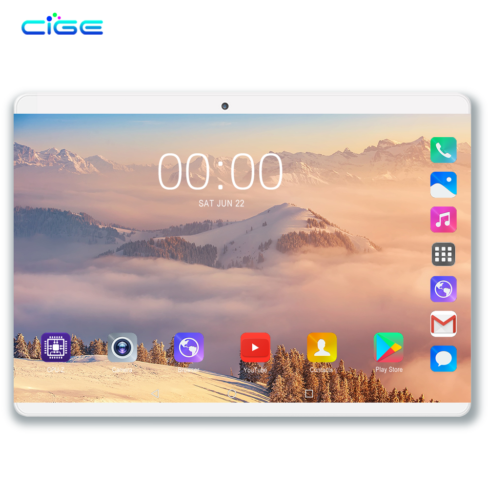 Free Shipping 10.1 Inch Octa Core 6GB RAM 64GB ROM Original Version Android 8.0 3G 4G Lte Tablets Dual Camera Tablet PC 10 9 8