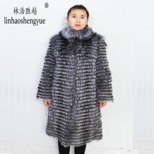 Image 2 - Linhaoshengyue 1 m largo Fox zorro rojo
