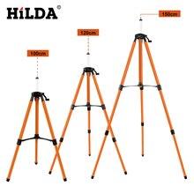 HILDA штатив с лазерным уровнем, регулируемая высота, утолщенный алюминиевый штатив, подставка для наливного 1/1. 2/1. 5 м