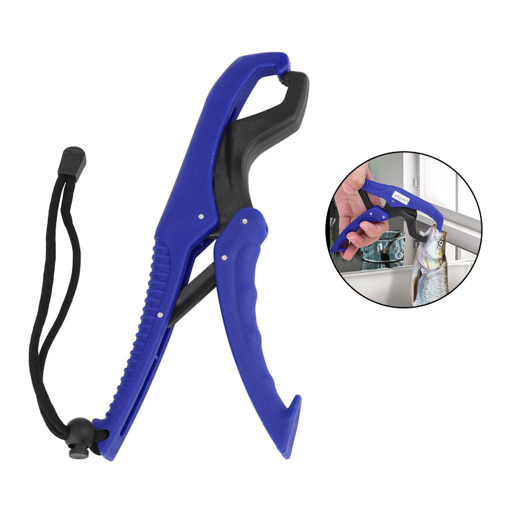9 Inch Practical Fish Catch Tool Fishing Lip Grip Floating Clamp Holder Pliers Controller Fishing Tools