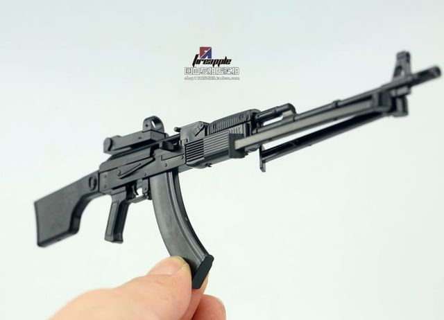1:6 PPK-74 Soldier 2014D Assembly Model RPK74M Automatic Rifle Model 3