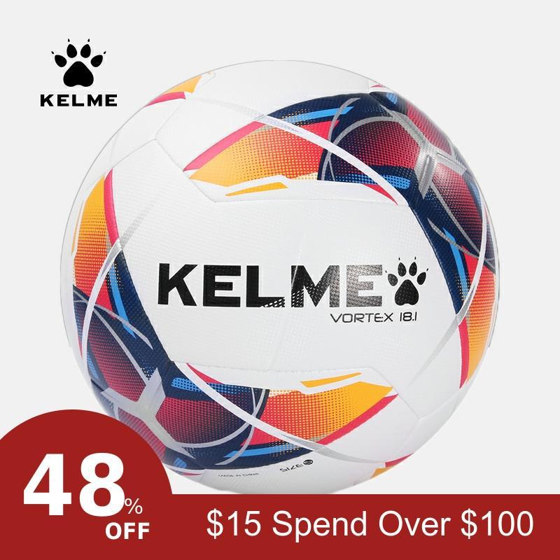 KELME Soccer Ball Football  Ball PU Training Balls Outdoor Football Official Size 4 Match 9886120