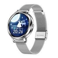 Weiblichen Smart Uhr IP67 Wasserdichte Fitness Tracker Schlaf/Herz Rate/Blutdruck Monitor Benachrichtigung/Call/Sitzende erinnerung
