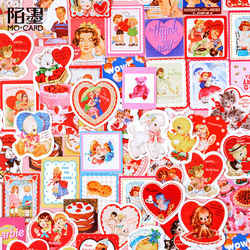 45pcs/lot Kawaii Stationery Stickers Sweetheart Story DIY Craft Scrapbooking Album Junk Journal Happy Planner Diary Stickers