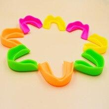 Eva материал цветной узор настраиваемый Пищевой Экологически чистый Спорт Защита зубная розетка протез