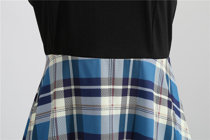 Women Long Sleeve Winter Vintage Dresses Sexy Black Music Note Print V-neck Rockabilly Pin up Party Dress Vestidos Plus size 530