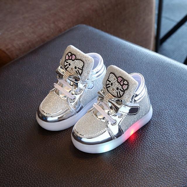 Toddler Glow in the Dark Sneakers 3
