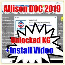 Logiciel universel Allison DOC 2019 + fichiers GEN5 2019 + activateur + keygen déverrouillé