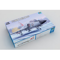 Trumpeter 02892 1/48 1:48 Scale F 106A F 106B Delta Interceptor Fighter Plane Aircraft Airplane Toy Plastic Assembly Model Kit
