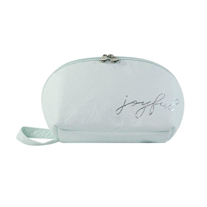 Моющая водопроводная линия DuPont бумажный дорожный набор косметичка Косметика сумка настраиваемая водонепроницаемая сумка для хранения оде...