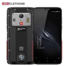 Elephone Soldier 4G Smartphone 5.5 inch Android 8.0 MTK X25 4GB RAM 128GB ROM 21.0MP Rear Camera IP68 5000mAh Mobile Phone elephone p9000 5 5inch android 6 0 4gb 32gb smartphone white