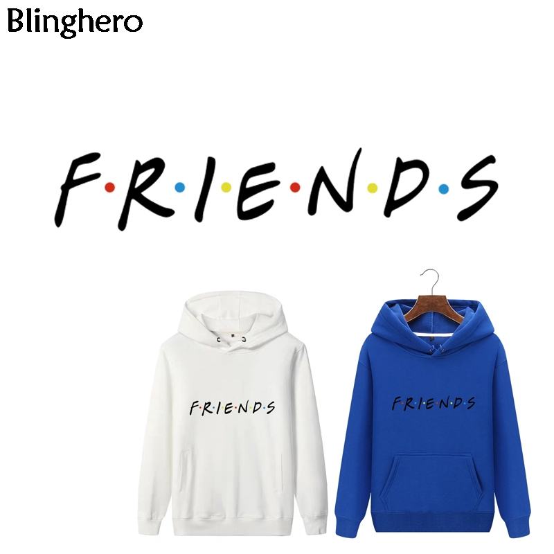 Blinghero TV Show Friends Heat Transfer Patches Letter Print Vynil Heat Transfers Cool Ironing Stickers Diy Patch Sticker BH0354