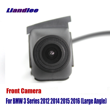 Car Front View LOGO Grill Camera For BMW 3 Series F30 F31 F34 2012 2014 2015 2016 Not Fit E90 G20 E46 HD Front View Camera image