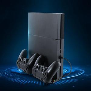 Image 2 - אנכי קירור Stand תחנת טעינת Dock w/רכזת עבור PS4/PS4 Slim/PS4 פרו