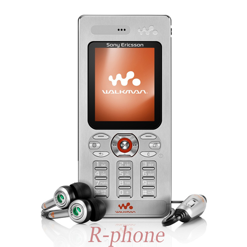 Original Sony Ericsson w880 w880i Cell Phones Unlocked w880 Mobile Phone 3G Bluetooth MP3 Player & One Year warranty feature phone
