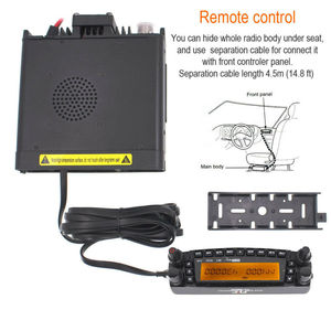 Image 3 - Fast Car Radio Walkie talkie 50KM TYT TH 9800 VHF 50W UHF 35W 800CH Quad Band TH 9800 Ham Radio HF Transceiver TH9800 CB Radio