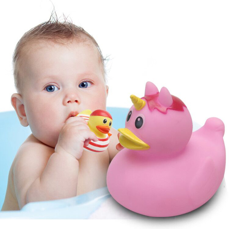 """Lot of 2pcs 18/"""" American Girl Doll Pink Rubber Duck from Pet Bath Tub Set"""