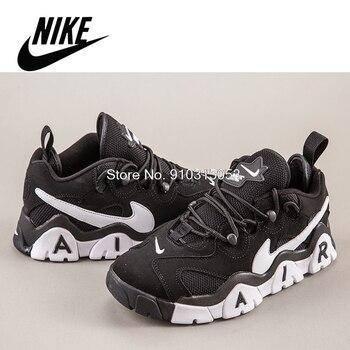 Original NIKE Air Barrage Running Shoes For Men Sneakers Trainers Breathable Tenis Nike Air Barrage Black nike шорты для мальчиков nike air размер 122