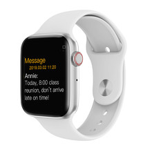купить 2019 Bluetooth Smart Watch Series 4 Heart Rate Monitor Smartwatch 44mm Case for android Apple Phone relogio inteligente Watch по цене 1026.47 рублей