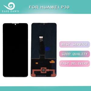 Image 1 - Huawei 社 P30 液晶 Amoled ディスプレイ液晶画面 + タッチパネルデジタイザーアセンブリ Huawei 社ディスプレイオリジナル