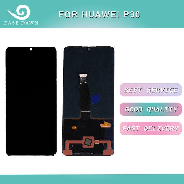 Huawei 社 P30 液晶 Amoled ディスプレイ液晶画面 + タッチパネルデジタイザーアセンブリ Huawei 社ディスプレイオリジナル