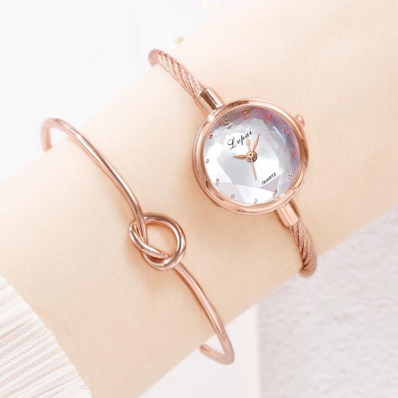 New Brand Rose Gold Women Bracelet Watches Fashion Luxury Quartz-Watches Brand Ladies Casual Dress Sport Watch Clock Dropshiping