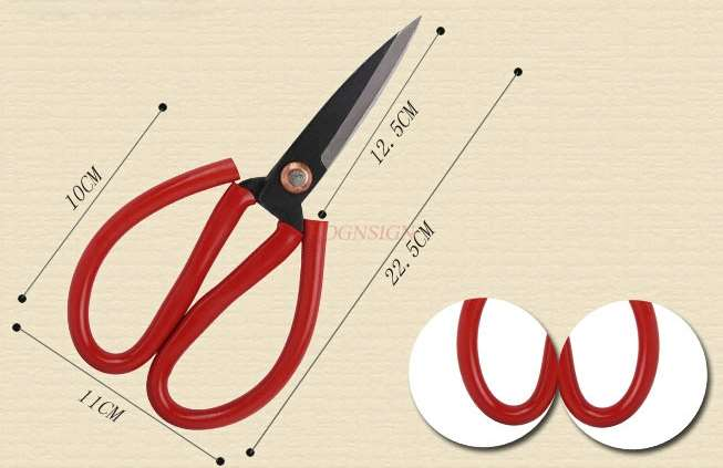 Scissors Household Sharp And Strong Composite Steel Shears Industrial Scissors Multipurpose Large Scissors